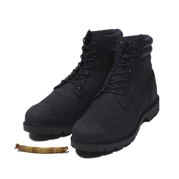 【Timberland】 ティンバーランド YOUTH 6 INCH BASIC BOOT ユース 6インチ ベーシック ブーツ A1OTE *NAVY 17FA