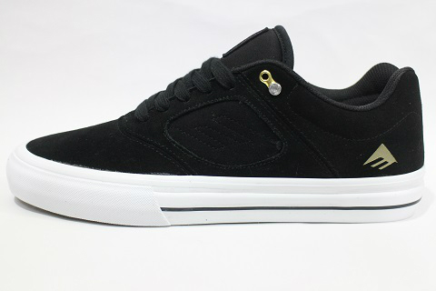 【EMERICA エメリカ】REYNOLDS 3 G6 VULC BLACK/WHITE/GOLD(S-EM-007)