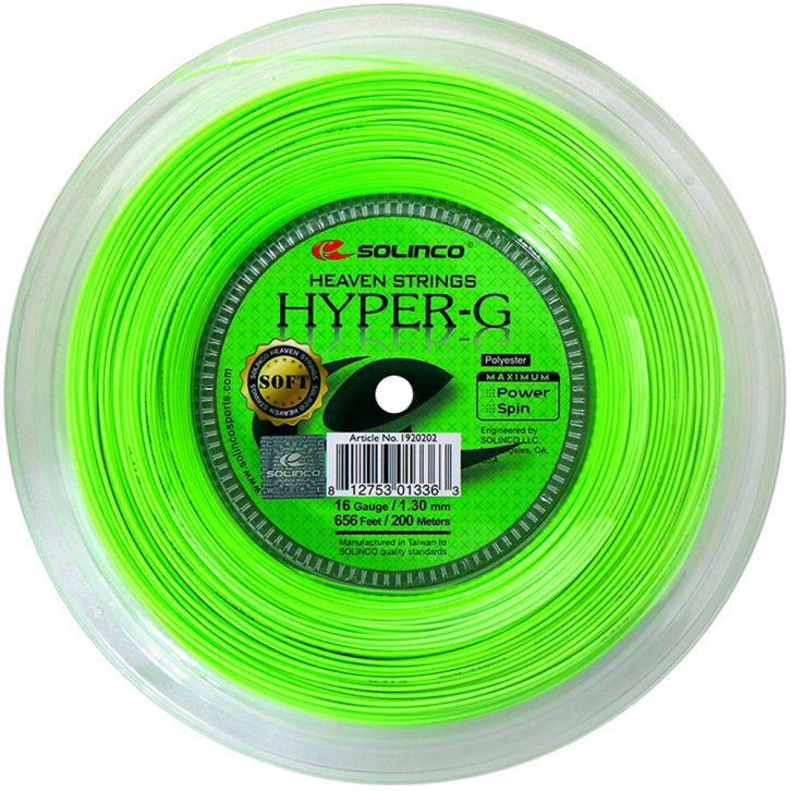 ネット最安値挑戦中 9 9-11は5%クーポン ソリンコ ハイパーG ソフト 1.15 1.20 1.25 ロール SOFT SOLINCO HYPER-G ストリング 1.30mm 5☆大好評 200m テニスガット 全店販売中