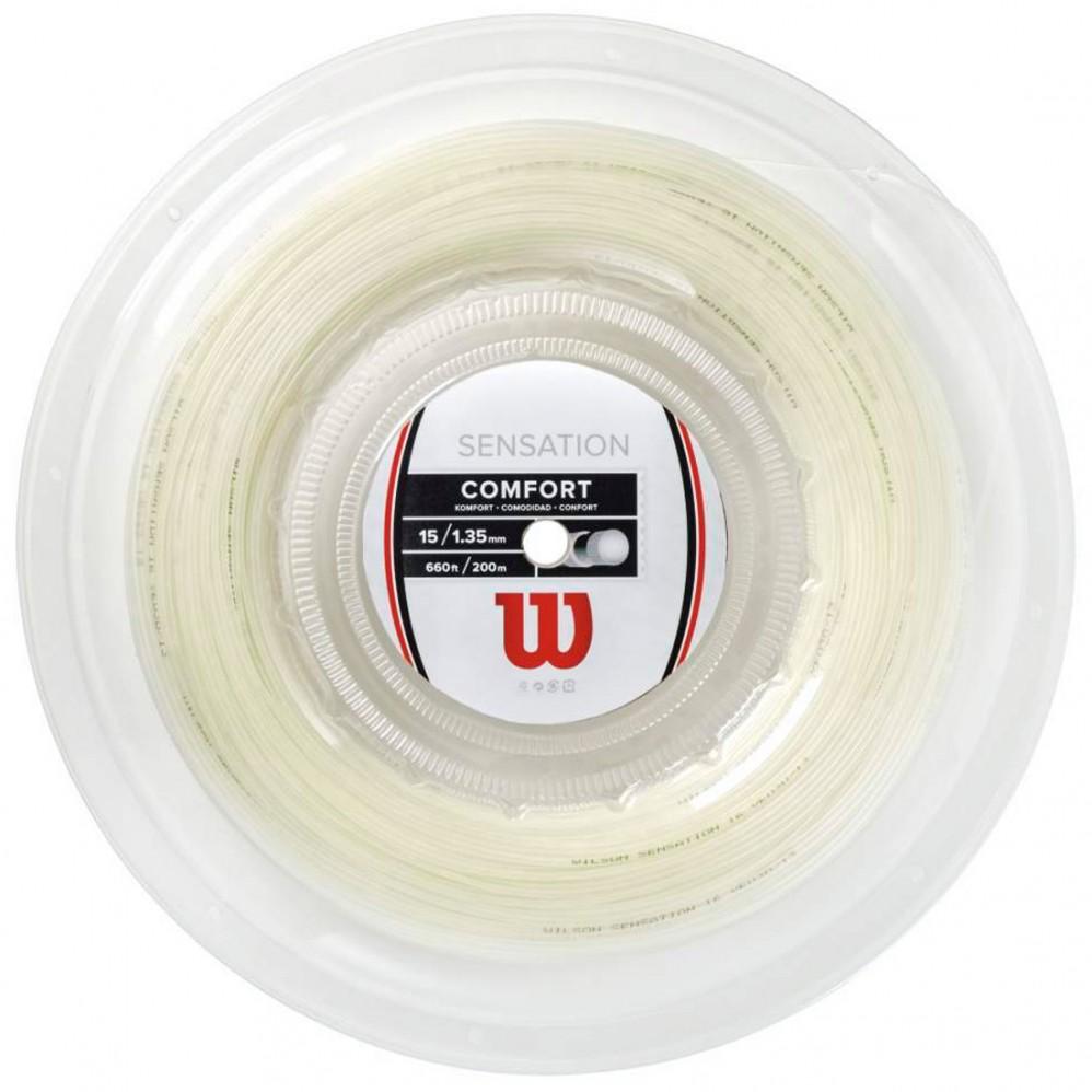 ネット最安値挑戦中 Wilson SENSATION ロールガット 9 ハイクオリティ 9-11は5%クーポン 早割クーポン ウィルソン センセーション ストリング 硬式テニス ガット 200m ロール