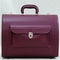 送料無料 ドッグキャリー ワインレッド 豊岡の鞄職人が真面目に作った 鞄の聖地兵庫県豊岡市から 国産