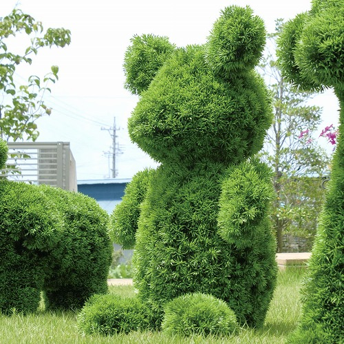 ガーデントピアリー ベアー サイズ W46×D38×H72cm