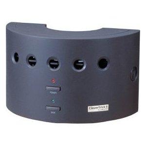 【保証付き】クレバートリック2 空気清浄 脱臭器 イオン式 グレー pm2.5対策にも有効です 強力脱臭 花粉、ウィルスを強力集塵 空気清浄機  pm2.5対応 フィルター不要 空気清浄機 脱臭器 イオン式 空気清浄器
