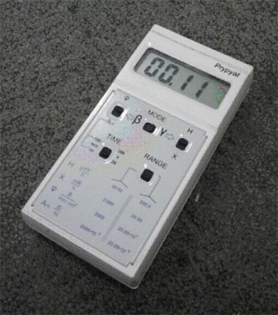 放射能測定機 ガイガーカウンター Pripyat RKS-20.03 放射能 測量器