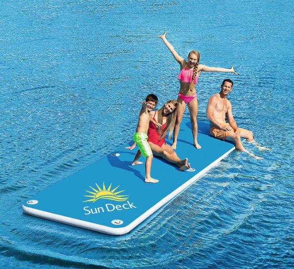 インフレータブルサンデッキ 457×152×15cm BESTWAY Inflatable Sun Deck