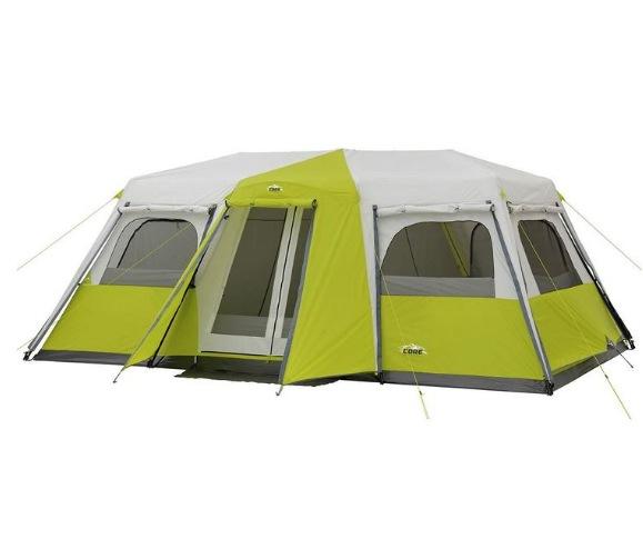 12人用 インスタントキャンプテント CAMPVALLEY 耐水圧 フロア/フライ 2000mm 12人用 インスタントキャノピーテント キャビンテント インスタント テスト 簡単 組立 約5分 5.5m×3.0m