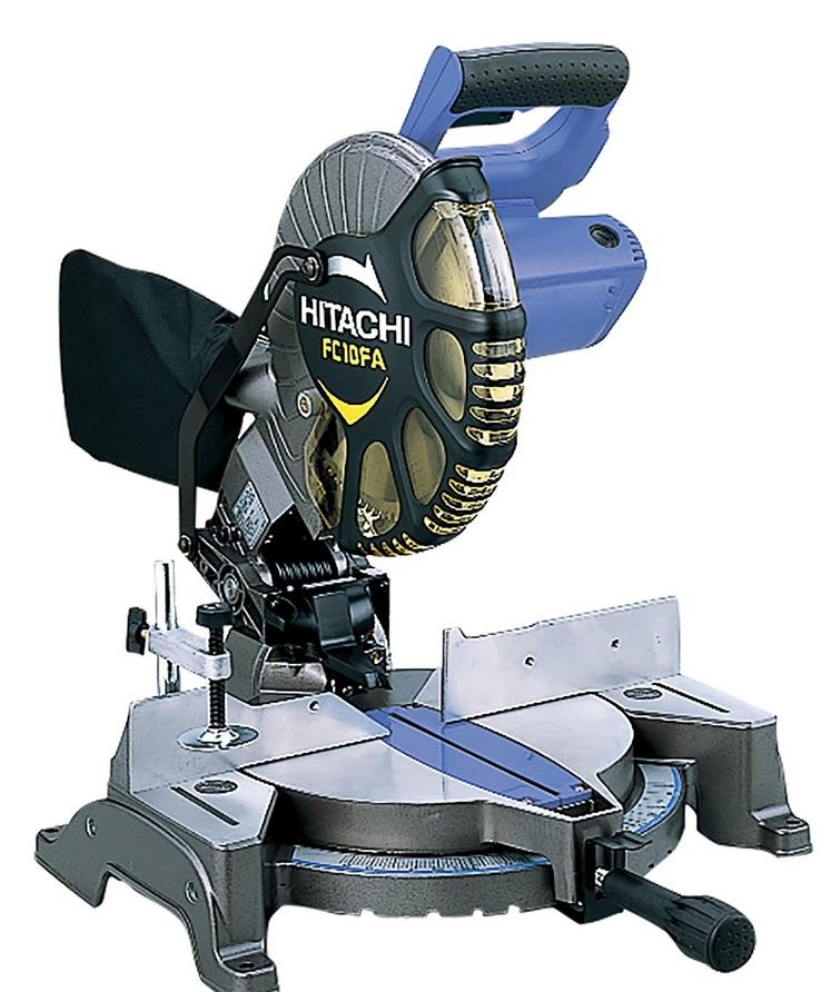 日立工機 卓上丸のこ 刃径255mm AC100V 左45度傾斜切断可 FC10FA