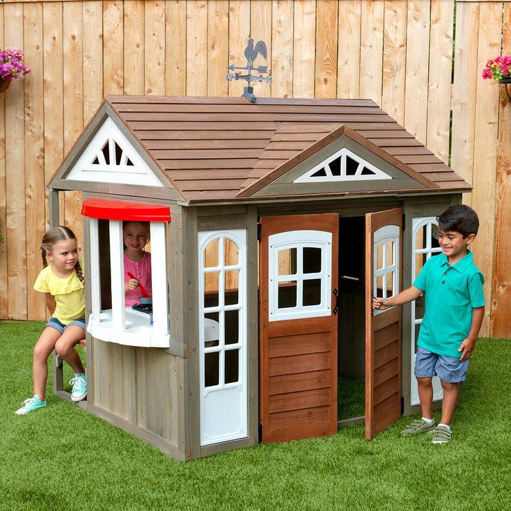 Cedar Summit STONEYCREEK 木製 プレイハウス ストーニークリーク Playhouse おままごと 家 キッズハウス 木製ハウス組立式170cm×112cm×201cm