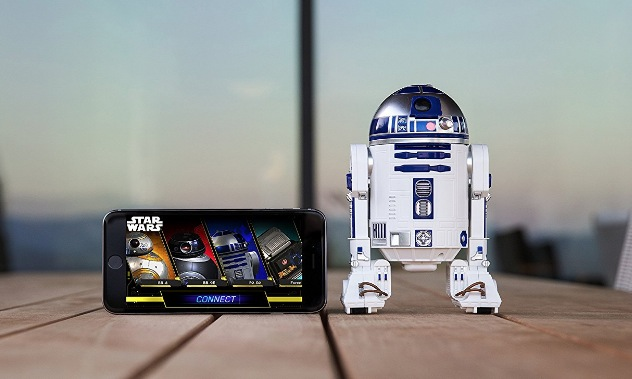 Sphero スター・ウォーズ R2-D2 APP-ENABLED DROID 【日本正規代理店品】 R201JPN SPHERO iOS/Android対応 R2-D2 App-Enabled Droid R201JPN