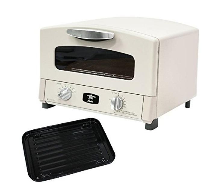 トースター アラジン オーブン 2枚 おしゃれ】アラジン グラファイト トースター ホワイト(B806-S2)