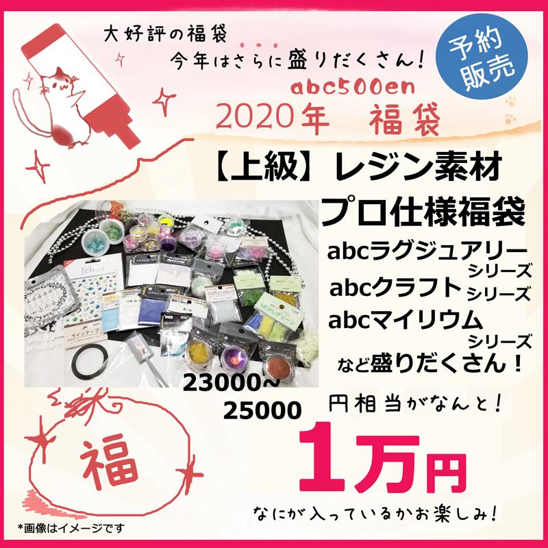 【2020年abc500en福袋】「上級」レジン素材プロ仕様福袋
