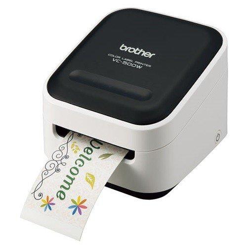 ブラザー VC-500W P-touch Color フルカラーラベルライター