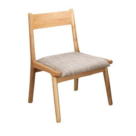 HOC-331 NA BR ナチュラル ブラウン ダイニングチェアー モタ MOTA 食堂イス いす 椅子 布張り ファブリック ナチュラル カントリー 天然木 洋風 北欧 東谷 アズマヤ ROOM ESSENCE ルームエッセンス
