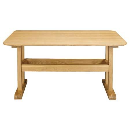 HOT-456 NA ナチュラル ダイニングテーブル DELICA デリカ 長方形 テーブル単品 130cm幅 天然木 洋風 カジュアル 食卓 食堂 テーブル 4人用 東谷 アズマヤ ROOM ESSENCE ルームエッセンス