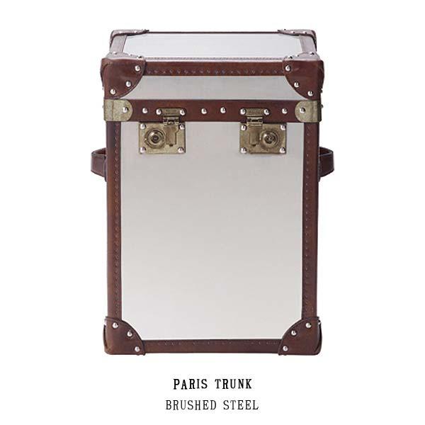 ハロ パリス トランク(ブラッシュドスチール) 530369 PARIS TRUNK(BRUSHED STEEL) HALO アスプルンドASPLUND 【送料無料】(403-130311-066)