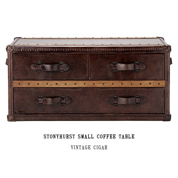 ハロ ストニーハースト スモール コーヒーテーブル(ヴィンテージシガー)530420 STONYHURST SMALL COFFEE TABLE(VINTAGE CIGAR) HALO アスプルンドASPLUND 【送料無料】(403-130311-085)