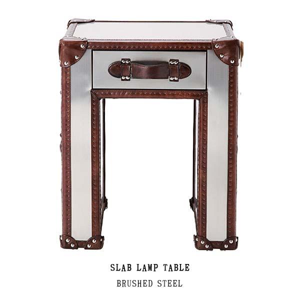 ハロ スラブ ランプ テーブル(ブラッシュドスチール)531199 SLAB LAMP TABLE(BRUSHED STEEL) HALO アスプルンドASPLUND 【送料無料】(403-130311-089)