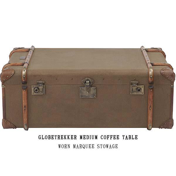 ハロ グローブトレッカー ミディアムコーヒーテーブル(ウォーン マルキー ストウェッジ)535814 GLOBE TREKKER MEDIUM COFFEE TABLE(WORN MARQUEE STOWAGE) HALO アスプルンドASPLUND 【送料無料】(403-130311-100)