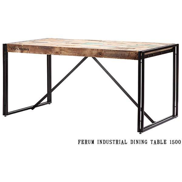 ディーボディ 110806 フェルム インダストリアル ダイニングテーブル 1500 INDUSTRIAL DINING TABLE 1500 d-Bodhi FERUM アスプルンド ASPLUND 【送料無料】(403-130311-120)