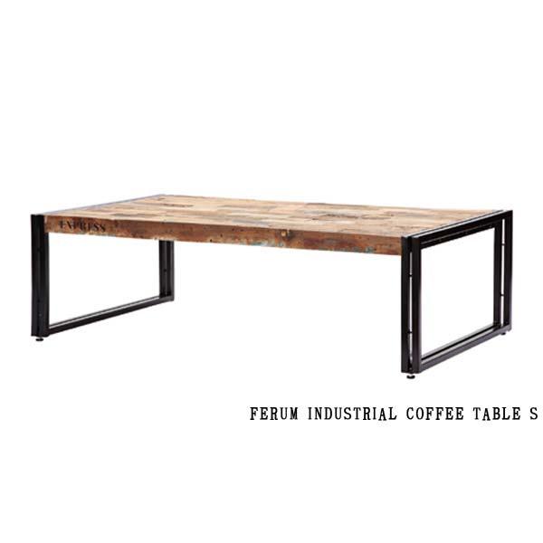 ディーボディ 113159 フェルム インダストリアル コーヒーテーブル(S)幅100cm INDUSTRIAL COFFEE TABLE S d-Bodhi FERUM アスプルンド ASPLUND 【送料無料】(403-130311-123)