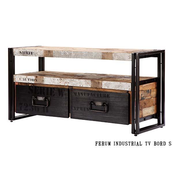 ディーボディ 110769 フェルム インダストリアル TVボード(S)幅112cm INDUSTRIAL TV BOARD S d-Bodhi FERUM アスプルンド ASPLUND 【送料無料】(403-130311-127)