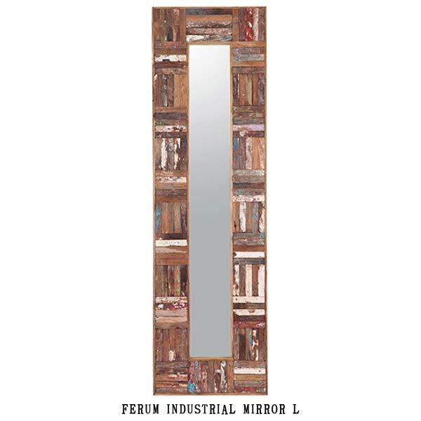 ディーボディ 110820 フェルム インダストリアル ミラー(L) INDUSTRIAL MIRROR L d-Bodhi FERUM アスプルンド ASPLUND 【送料無料】(403-130311-144)