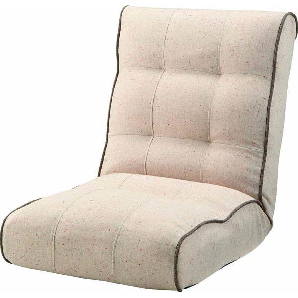 RKC-932 BE BR シュシュ布張り ファブリック 座いす 座椅子 座イス もこもこ コタツ リクライニング 敬老の日 父の日 母の日 プレゼント 東谷 アズマヤ ROOM ESSENCE ルームエッセンス