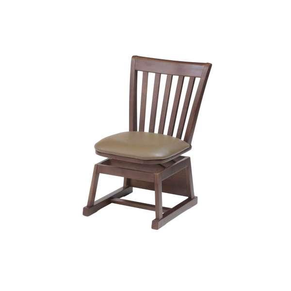 Q-144 Q-145 KD-17VCH ダイニングチェアー 単品販売 ブラウン ナチュラル LDスタイル 協立工芸 こたつ リビング 椅子 高脚 店舗 洋風 高い素材 送料無料 コタツ用チェアー イス いす