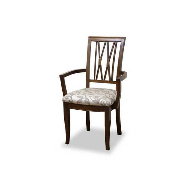 アームチェアーH BK F2 WH ベネチア venezia ダイニングチェアー 食堂 イス いす 椅子 肘付 アンティーク 欧風 ヨーロッパ 東海家具工業 【送料無料】