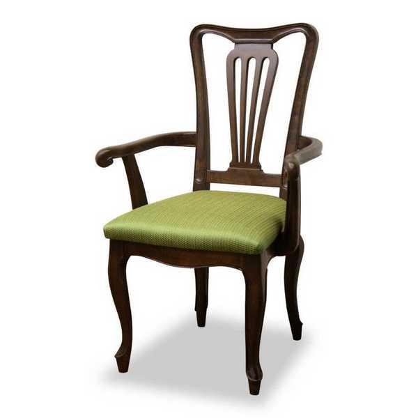 アームチェアーG GR F2 ケントハウス kent house ダイニングチェアー 食堂 イス いす 椅子 肘付 猫脚 東海家具工業 【送料無料】