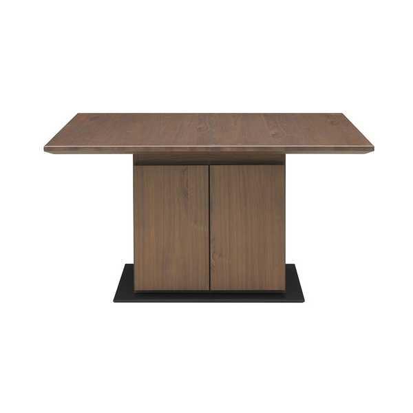 120ダイニングテーブル エスプリ ESPRIT 食堂テーブル 食卓 ボックスタイプ 収納スペース リビングダイニング ソファーダイニング シギヤマ 【送料無料】