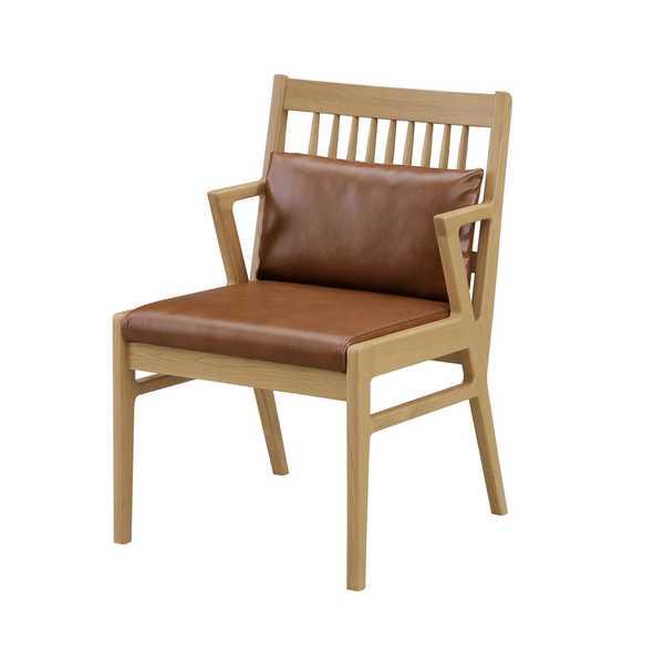 50チェアー ホルン HOLN 食堂 イス いす 椅子 チェア モダン シンプル 合皮張り お手入れ簡単 シギヤマ 【送料無料】