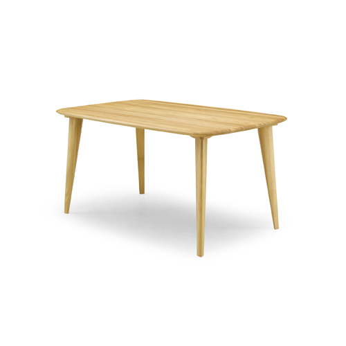 Y-022 緑 グリーン DINING TABLE B オーク OAK 140cm幅 ダイニングテーブルB 食卓 食堂 岩倉榮利 YUZU ユズ シギヤマ 【送料無料】