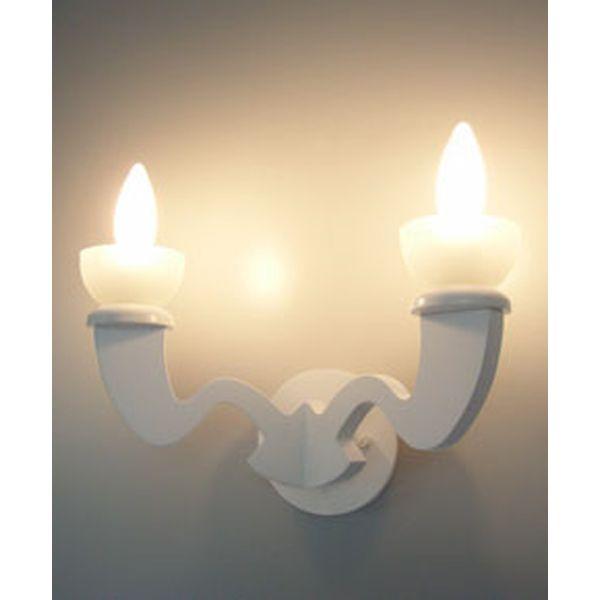 B1015-W 室内照明 シャンデリア ランプ ブラケット 壁面照明 ウォールライト 2灯 アボーボ Pure White ピュアホワイト 並木 紀之 DCS corp. 【送料無料】