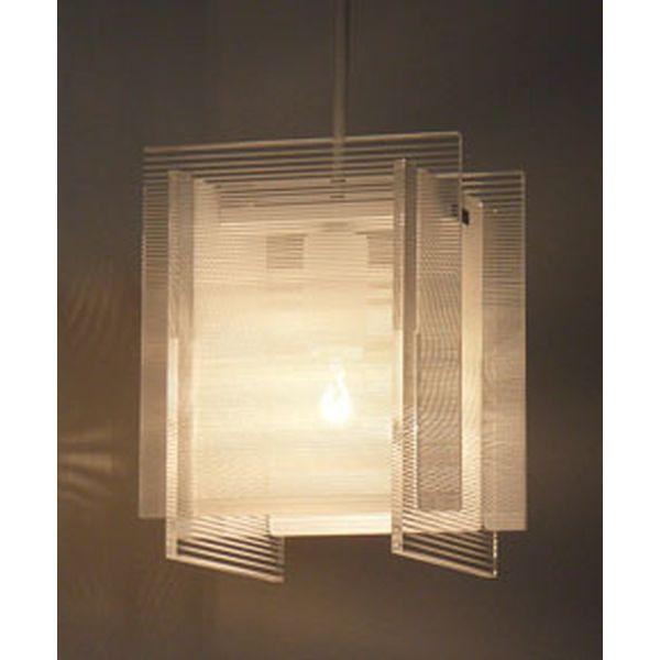 P4046-W 室内照明 ランプ ブラケット 壁面照明 ウォールライト アクリル 1灯 アボーボ MOIRE-LE モアレ 桂 秀年 DCS corp. 【送料無料】