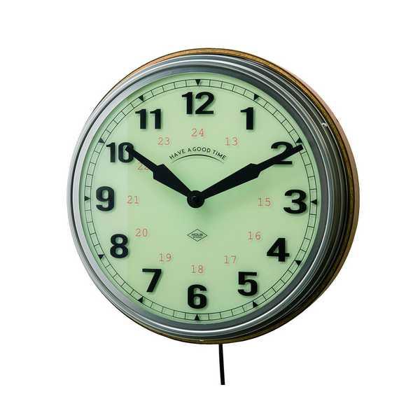CL-2560 時計 Reverolle ルヴェロル ステップムーブメント 壁掛け時計 クロック 洋風 新居 インテリア 新築 お祝い プレゼント 開店 INTERFORM インターフォルム 【送料無料】