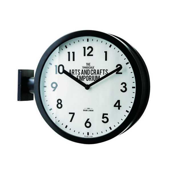 CL-2138 時計 Robeston ロベストン 日本製スイープムーブメント 壁掛け時計 クロック 洋風 新居 インテリア 新築 お祝い プレゼント 開店 INTERFORM インターフォルム 【送料無料】