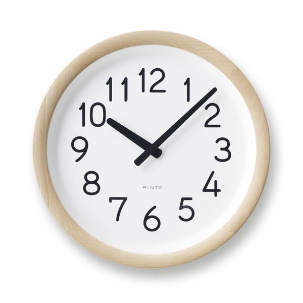 PIL12-10 NT/BW Day To Day Clock デイ トゥ デイ クロック タカタレムノス 掛け時計 takata lemnos PINTO デザイン ピント 【送料無料】 お祝い 贈り物 新築 新居 結婚