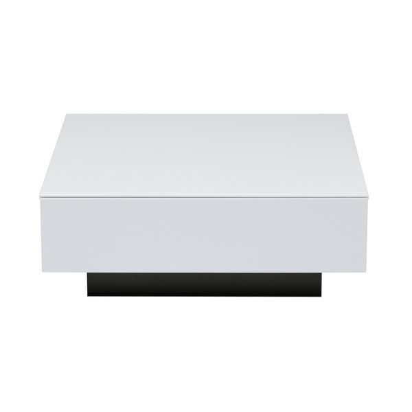 CUB080WT 80cm幅 リビングテーブル センターテーブル ローテーブル ソファーテーブル モダン MKマエダ クボ 【送料無料】