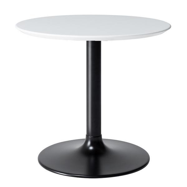 LETH-008WT 80cm幅 テーブル ラウンドテーブル カフェテーブル 円形 丸形 モダン MKマエダ リエット 【送料無料】