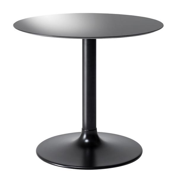 LETH-008BGY 80cm幅 テーブル ラウンドテーブル カフェテーブル 円形 丸形 モダン MKマエダ リエット 【送料無料】