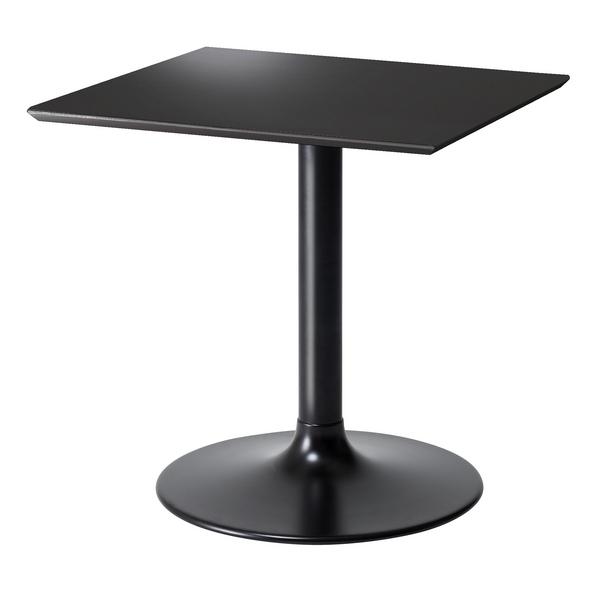 LETH-007BK 70cm幅 テーブル スクエアテーブル カフェテーブル モダン MKマエダ リエット 【送料無料】
