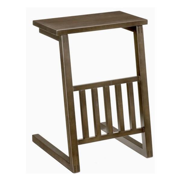 5130 ソファーテーブル SPADA ナイトテーブル ベッドサイド 小物置き 物置 シック オシャレ おしゃれ 木製 曙工芸 【送料無料】