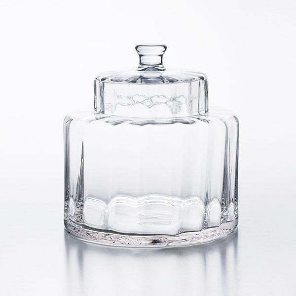 【送料無料】 025704 ガラスコンテナオーバル チェホマ chehoma アスプルンド ASPLUND ガラス クリスタル キッチン ダイニング インテリア雑貨