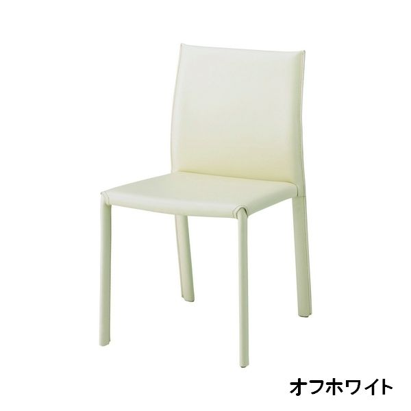 DC-150 OWH BK ダイニングチェアー STEEL COVERD CHAIR cherry 食堂イス いす 椅子 合成皮革 合皮 レザー チェリー 【送料無料】
