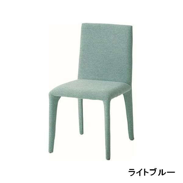 DC-161-F LBL SBE CGY ダイニングチェアー STEEL COVERD CHAIR cherry 食堂イス いす 椅子 布張り ファブリック チェリー 【送料無料】