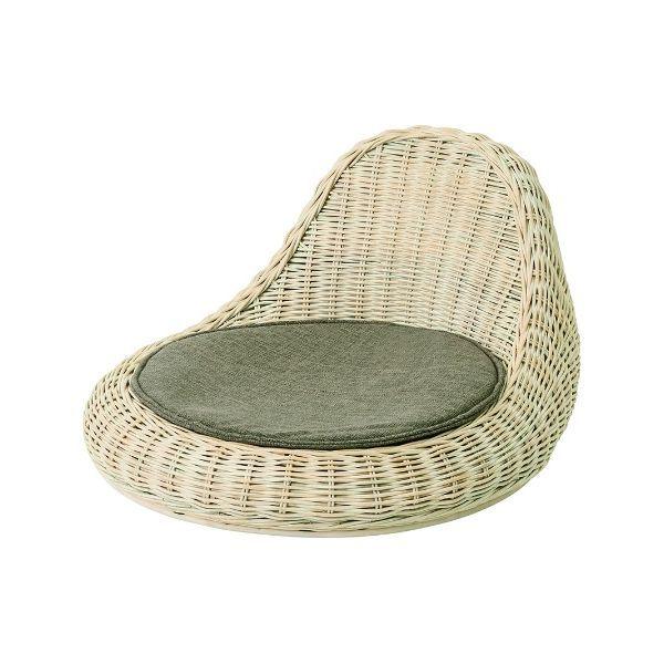 RA-804 WW BW 座椅子 RATTAN cherry フロアーチェアー ラタン 涼しい 快適 チェリー 【送料無料】