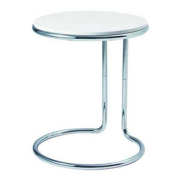 LT-76 WH リビングテーブル 45cm幅 サイドテーブル コーナーテーブル ミニテーブル 円形 丸型 チェリー 【送料無料】