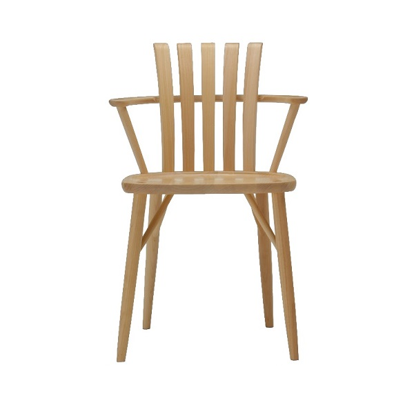KMC-855 KNA KWN 楓の森 ダイニングチェアー 食堂 いす 椅子 イス 洋風 北欧風 無垢 シンプル ミキモク 【送料無料】