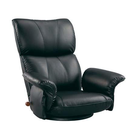 YS-1396HR MIYATAKE ミヤタケ スーパーソフトレザー座椅子 ブラック ブラウン ワインレッド 宮武製作所 【送料無料】